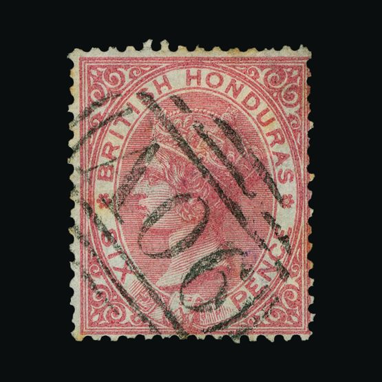 Lot 2021 - british honduras 1865 -  UPA UPA Sale #79 worldwide Collections