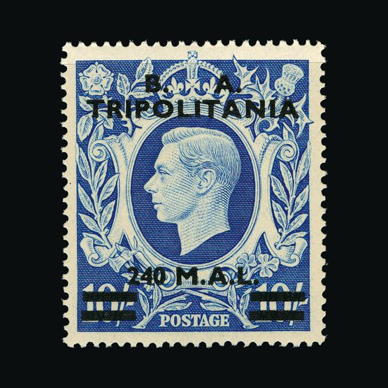 Lot 2201 - british occupation of italian colonies 1950 -  UPA UPA Sale #79 worldwide Collections