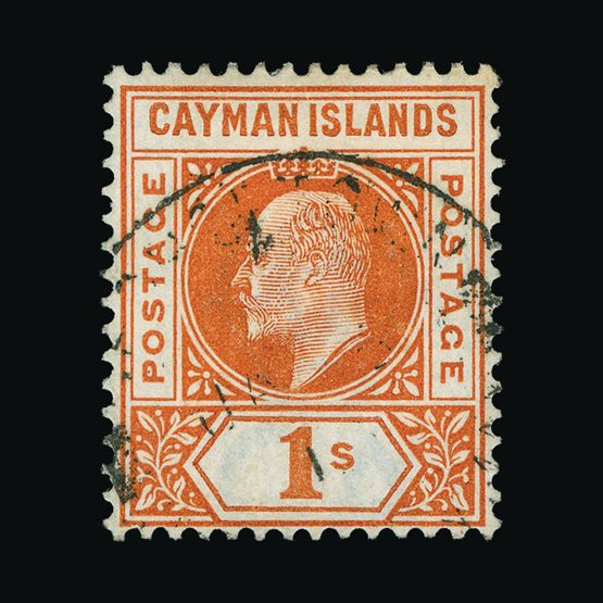 Lot 2962 - cayman islands 1902-03 -  UPA UPA Sale #79 worldwide Collections