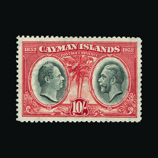 Lot 3004 - cayman islands 1932 -  UPA UPA Sale #79 worldwide Collections