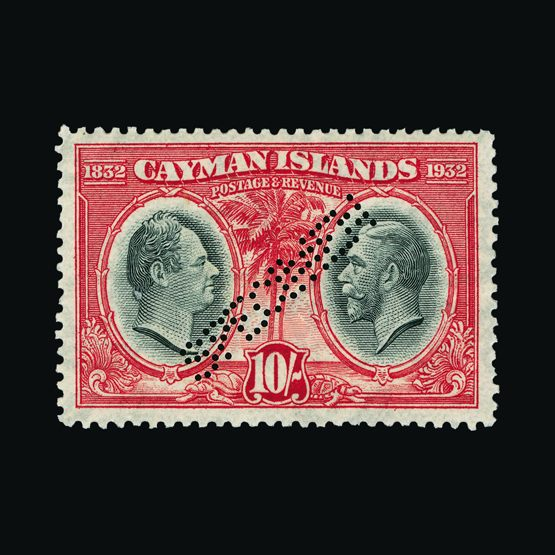 Lot 3005 - cayman islands 1932 -  UPA UPA Sale #79 worldwide Collections