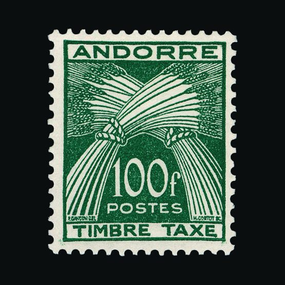 Lot 307 - Andorra - French Post Offices 1946-59 -  UPA UPA Sale #79 worldwide Collections