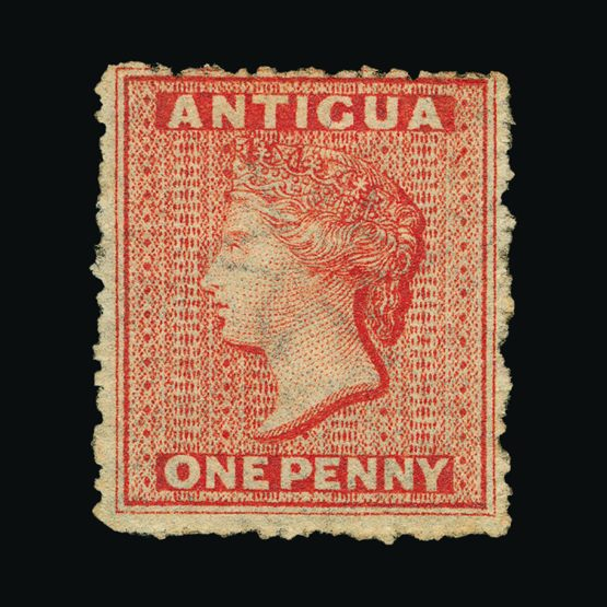 Lot 354 - antigua 1863 -  UPA UPA Sale #79 worldwide Collections