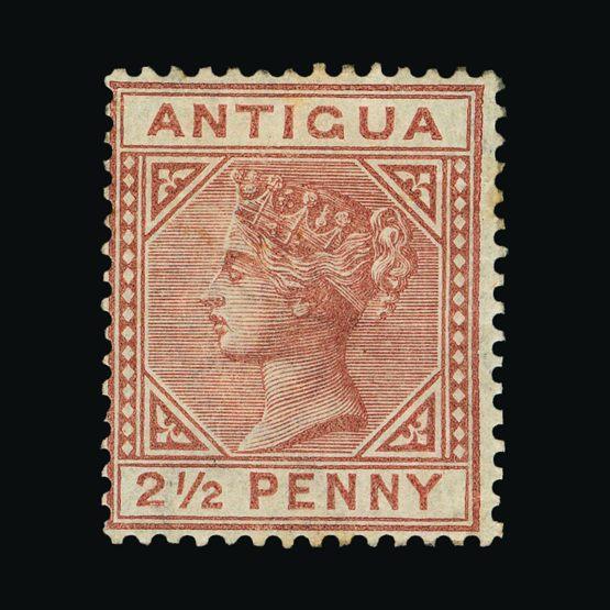 Lot 367 - antigua 1882 -  UPA UPA Sale #79 worldwide Collections