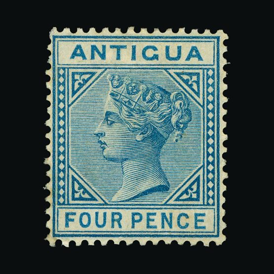 Lot 368 - antigua 1882 -  UPA UPA Sale #79 worldwide Collections