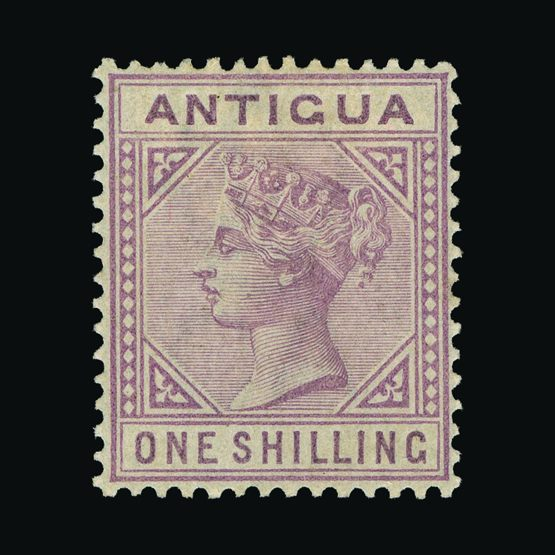 Lot 371 - antigua 1884-7 -  UPA UPA Sale #79 worldwide Collections