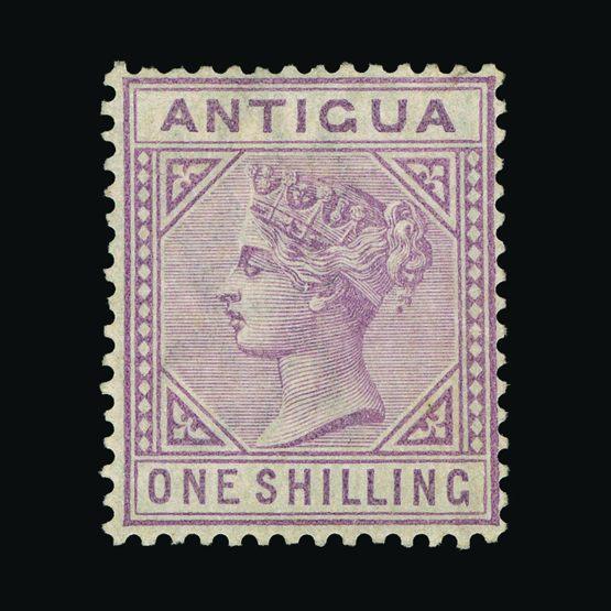 Lot 373 - antigua 1886 -  UPA UPA Sale #79 worldwide Collections