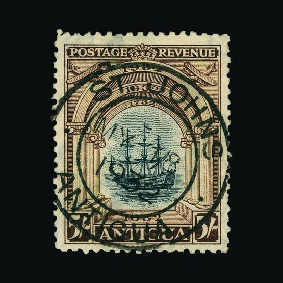 Lot 425 - antigua 1932 -  UPA UPA Sale #79 worldwide Collections