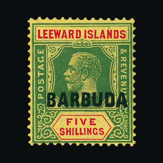 Lot 458 - Antigua - Barbuda 1922 -  UPA UPA Sale #79 worldwide Collections