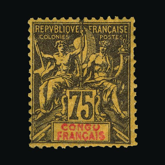 Lot 4917 - France - Colonies - Congo 1892-1900 -  UPA UPA Sale #79 worldwide Collections