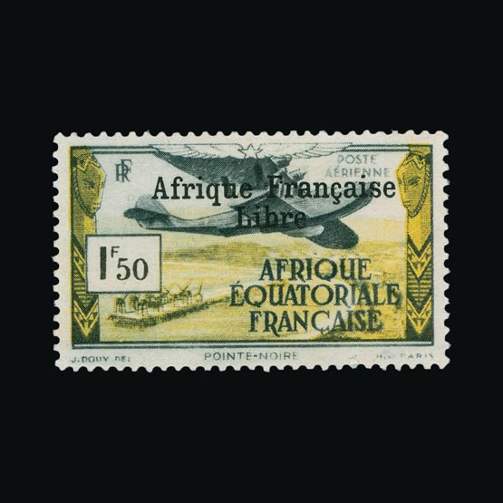Lot 4955 - France - Colonies - Equatorial Africa 1940 -  UPA UPA Sale #79 worldwide Collections