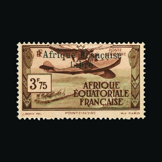 Lot 4956 - France - Colonies - Equatorial Africa 1940 -  UPA UPA Sale #79 worldwide Collections
