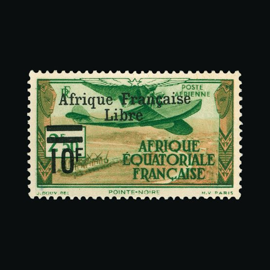 Lot 4957 - France - Colonies - Equatorial Africa 1940 -  UPA UPA Sale #79 worldwide Collections