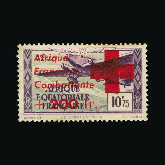 Lot 4959 - France - Colonies - Equatorial Africa 1943 -  UPA UPA Sale #79 worldwide Collections