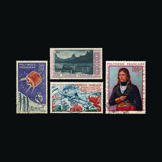 Lot 4987 - France - Colonies - French Polynesia 1958-2000 -  UPA UPA Sale #79 worldwide Collections