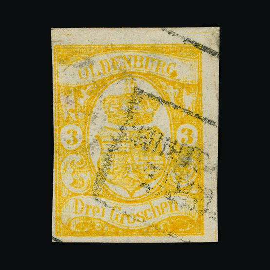 Lot 5508 - German States - Oldenburg 1861 -  UPA UPA Sale #79 worldwide Collections