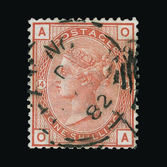 Lot 7506 - Great Britain - QV (surface printed) 1880-83 -  UPA UPA Sale #79 worldwide Collections