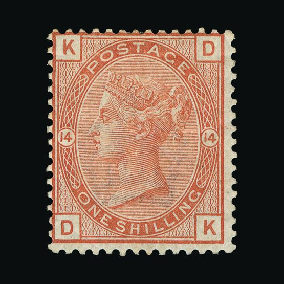 Lot 7511 - Great Britain - QV (surface printed) 1880-83 -  UPA UPA Sale #79 worldwide Collections