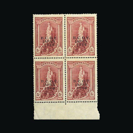 Lot 758 - Australia - BCOF 1946-47 -  UPA UPA Sale #79 worldwide Collections