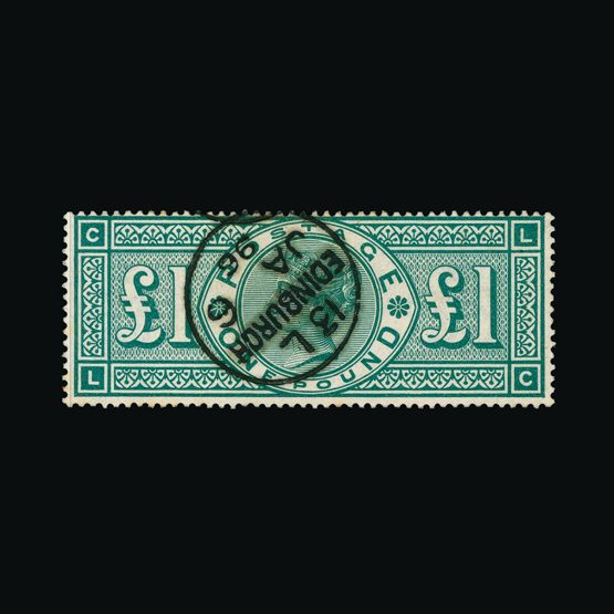 Lot 7694 - Great Britain - QV (surface printed) 1891 -  UPA UPA Sale #79 worldwide Collections