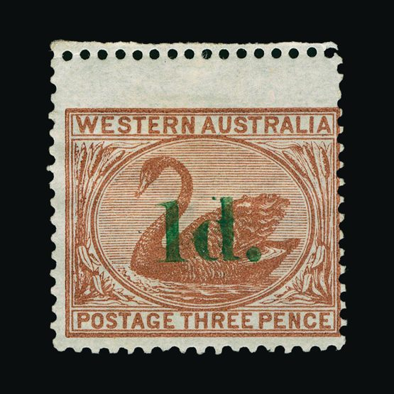 Lot 800 - Australia - States - Western Australia 1885 -  UPA UPA Sale #79 worldwide Collections
