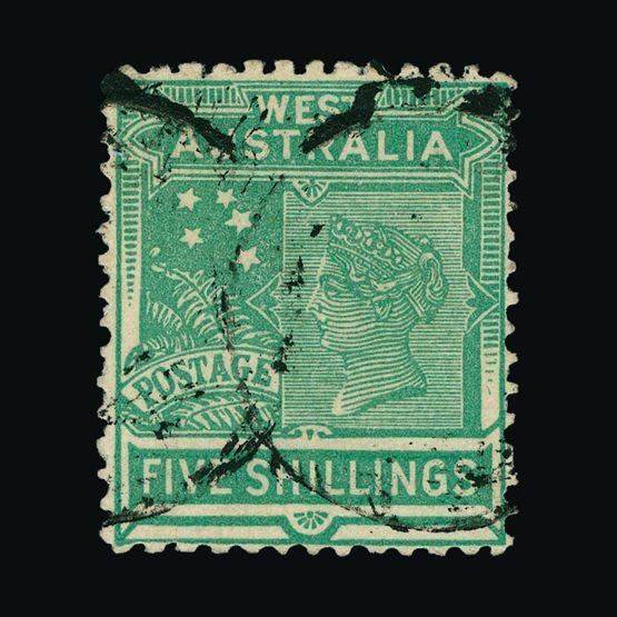 Lot 805 - Australia - States - Western Australia 1905-12 -  UPA UPA Sale #79 worldwide Collections