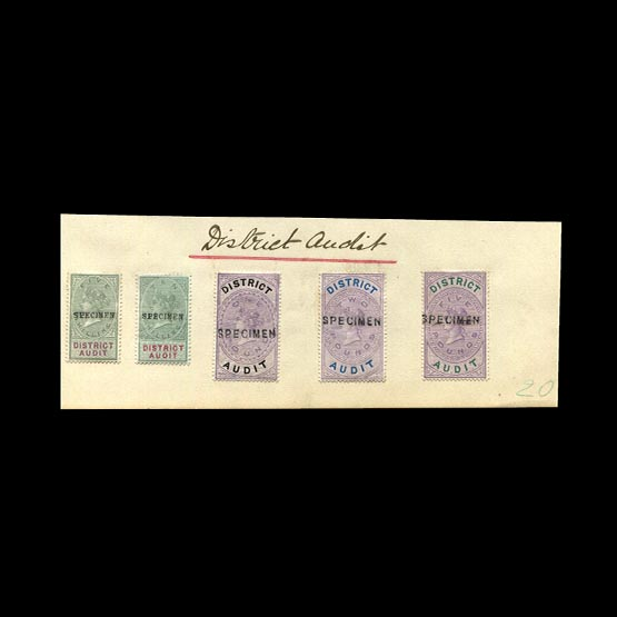 Lot 9534 - Great Britain - Revenues 1882 -  UPA UPA Sale #79 worldwide Collections