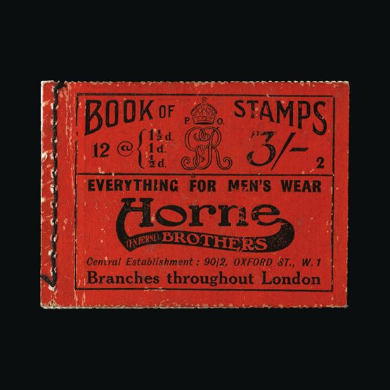 Lot 9627 - Great Britain - Booklets 1918 -  UPA UPA Sale #79 worldwide Collections