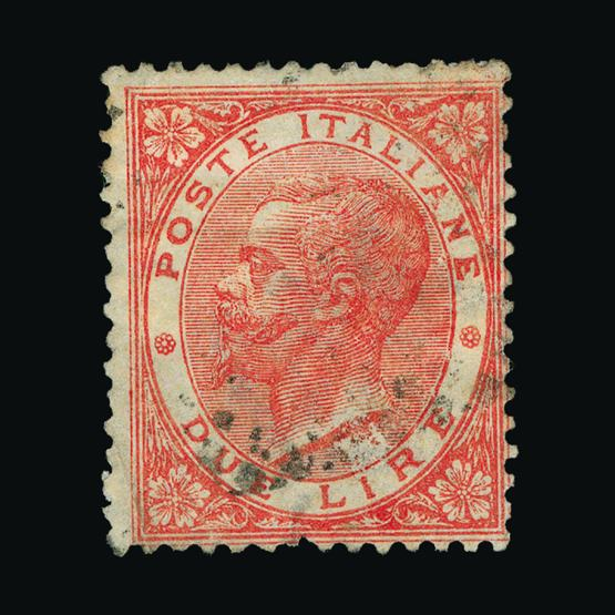 Lot 10276 - Italy 1863 - 1865 -  UPA UPA Sale #80 worldwide Collections