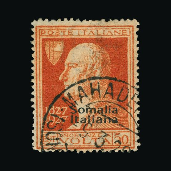 Lot 10469 - Italy - Colonies - Somalia 1927 -  UPA UPA Sale #80 worldwide Collections