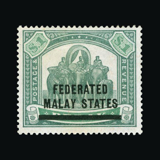 Lot 11503 - Malaya - Federated Malay States 1900 -  UPA UPA Sale #80 worldwide Collections