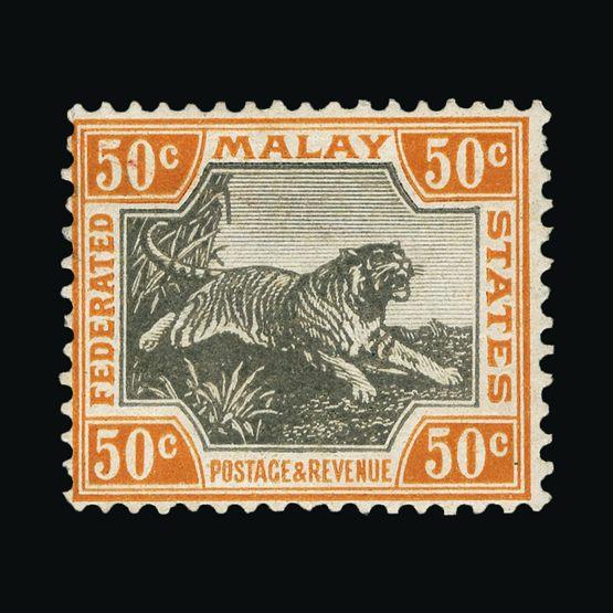 Lot 11515 - Malaya - Federated Malay States 1900-01 -  UPA UPA Sale #80 worldwide Collections