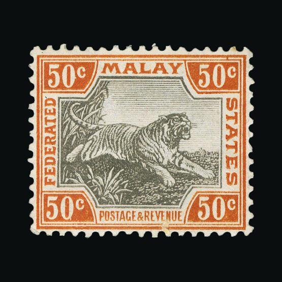 Lot 11525 - Malaya - Federated Malay States 1904-22 -  UPA UPA Sale #80 worldwide Collections