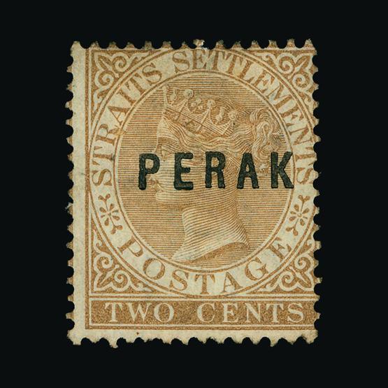 Lot 11738 - malaya - perak 1880-1 -  UPA UPA Sale #80 worldwide Collections