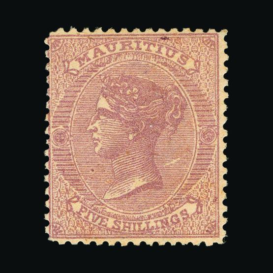 Lot 12190 - Mauritius 1863-72 -  UPA UPA Sale #80 worldwide Collections