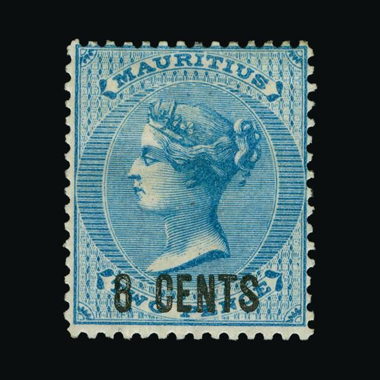 Lot 12195 - Mauritius 1878 -  UPA UPA Sale #80 worldwide Collections