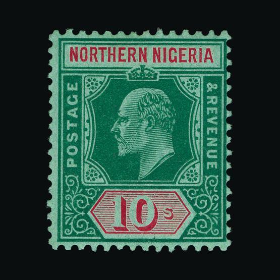 Lot 13344 - Nigeria - Northern Nigeria 1910-11 -  UPA UPA Sale #80 worldwide Collections