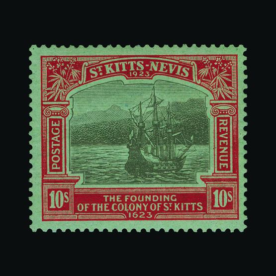 Lot 16222 - st. kitts and nevis 1923 -  UPA UPA Sale #80 worldwide Collections