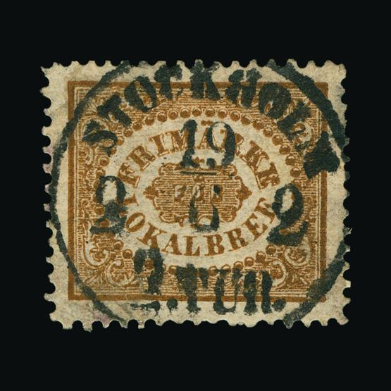 Lot 16569 - Sweden 1862 -  UPA UPA Sale #80 worldwide Collections