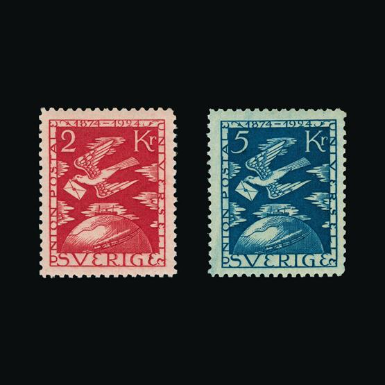 Lot 16580 - Sweden 1924 -  UPA UPA Sale #80 worldwide Collections