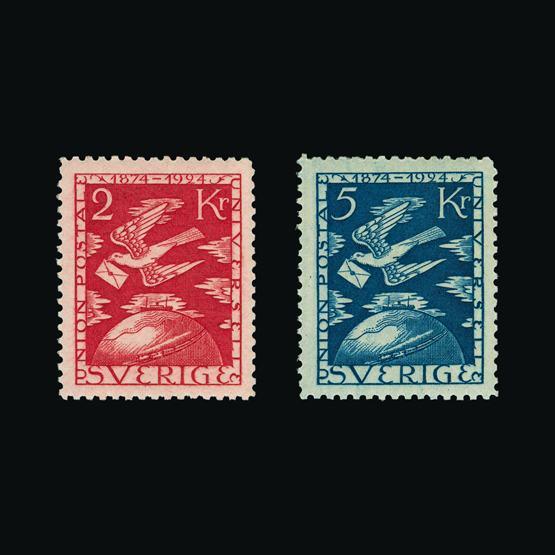 Lot 16581 - Sweden 1924 -  UPA UPA Sale #80 worldwide Collections