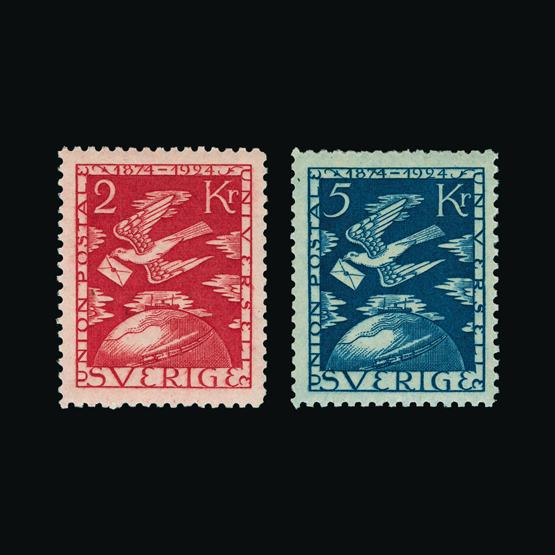 Lot 16582 - Sweden 1924 -  UPA UPA Sale #80 worldwide Collections