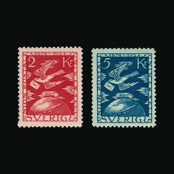 Lot 16583 - Sweden 1924 -  UPA UPA Sale #80 worldwide Collections