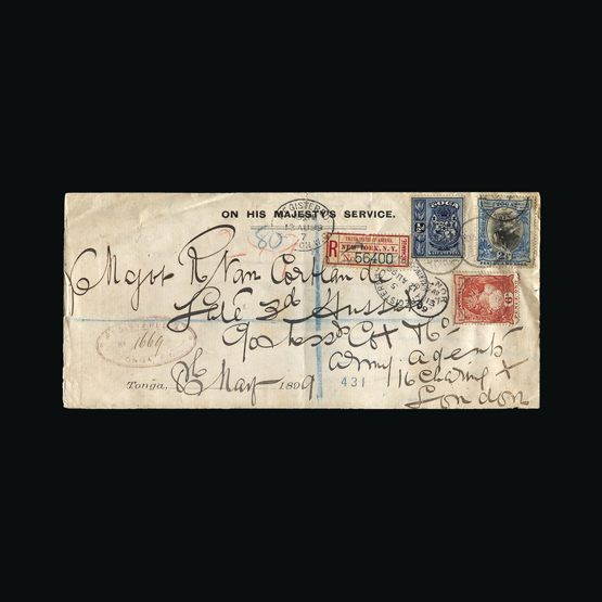 Lot 16997 - tonga 1899 -  UPA UPA Sale #80 worldwide Collections