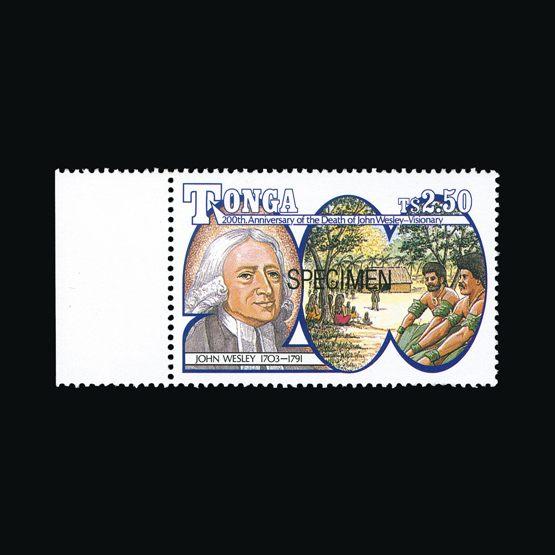 Lot 17014 - tonga 1991 -  UPA UPA Sale #80 worldwide Collections