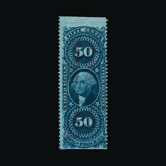 Lot 17539 - United States of America - Revenues 1862-71 -  UPA UPA Sale #80 worldwide Collections