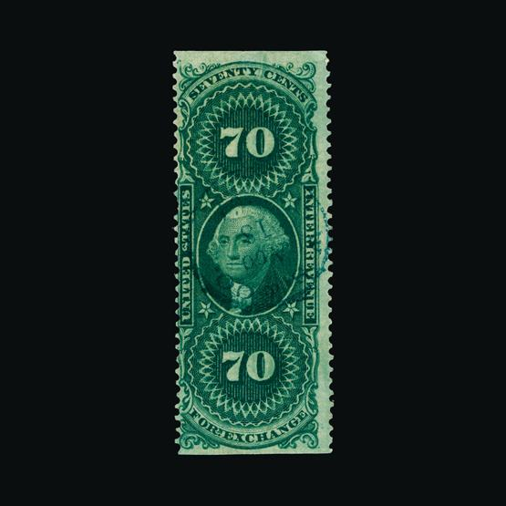 Lot 17542 - United States of America - Revenues 1862-71 -  UPA UPA Sale #80 worldwide Collections