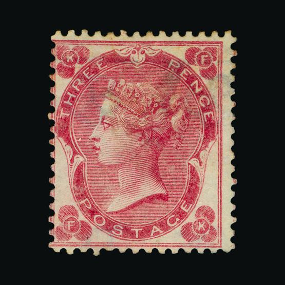 Lot 18176 - Great Britain - QV (surface printed) 1862-64 -  UPA UPA Sale #80 worldwide Collections