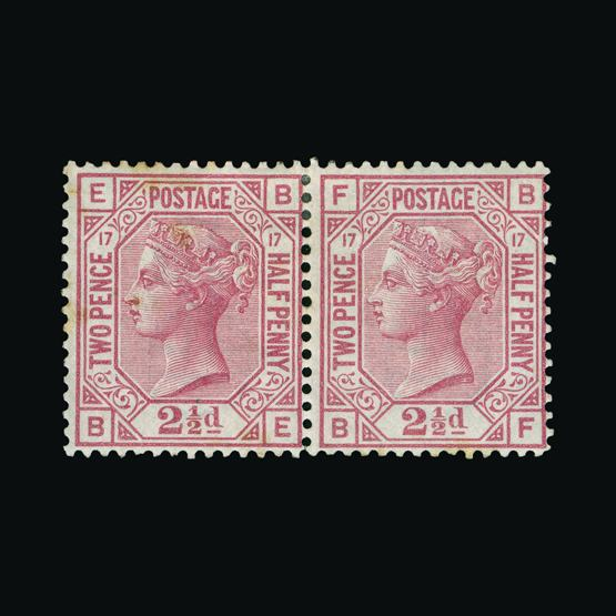 Lot 18273 - Great Britain - QV (surface printed) 1873-80 -  UPA UPA Sale #80 worldwide Collections