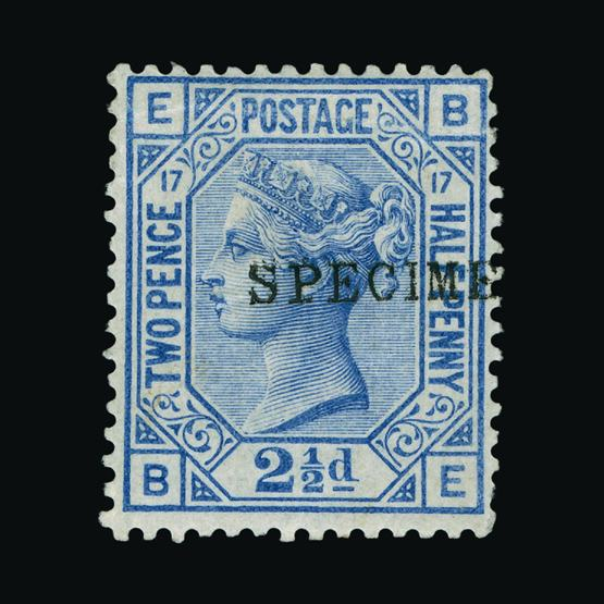 Lot 18275 - Great Britain - QV (surface printed) 1873-80 -  UPA UPA Sale #80 worldwide Collections